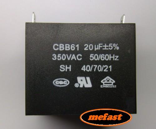 Cbb61 20uf 350vac